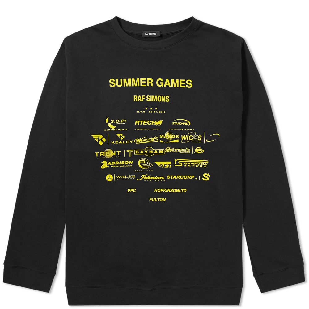 Raf Simons Summer Games Crew Sweat