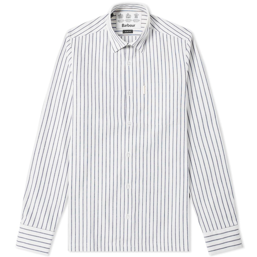 Photo: Barbour Keswick Shirt - Japan Collection White