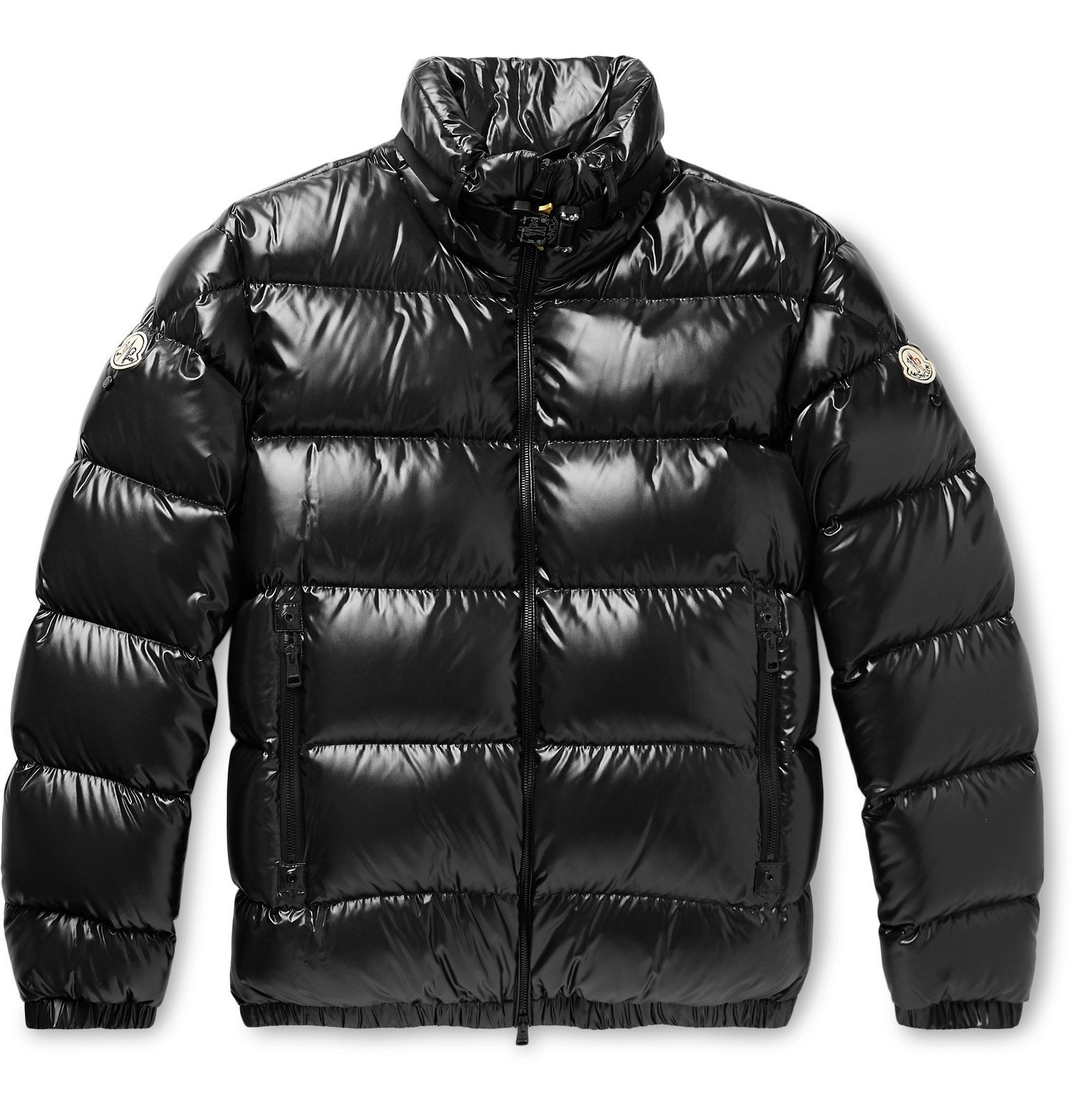 Photo: Moncler Genius - 6 Moncler 1017 ALYX 9SM Quilted Glossed-Nylon Down Jacket - Black