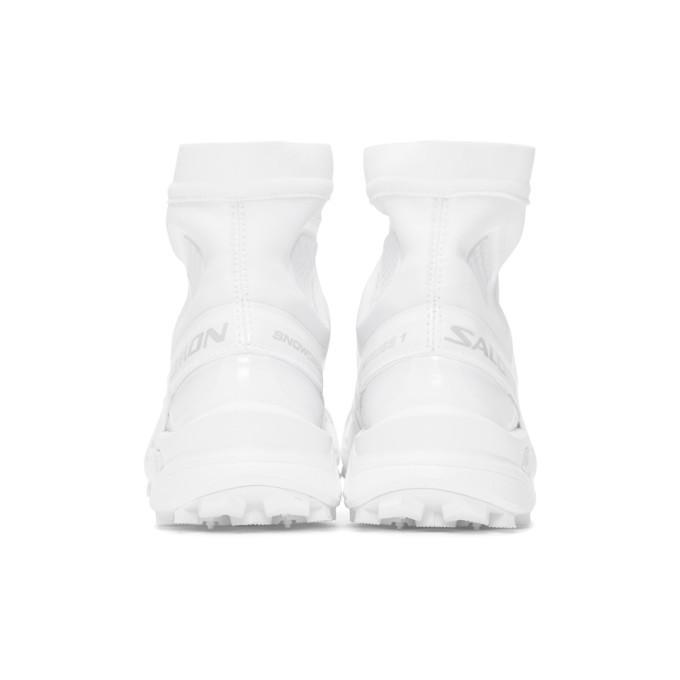 Salomon White Snowcross ADV LTD Sneakers