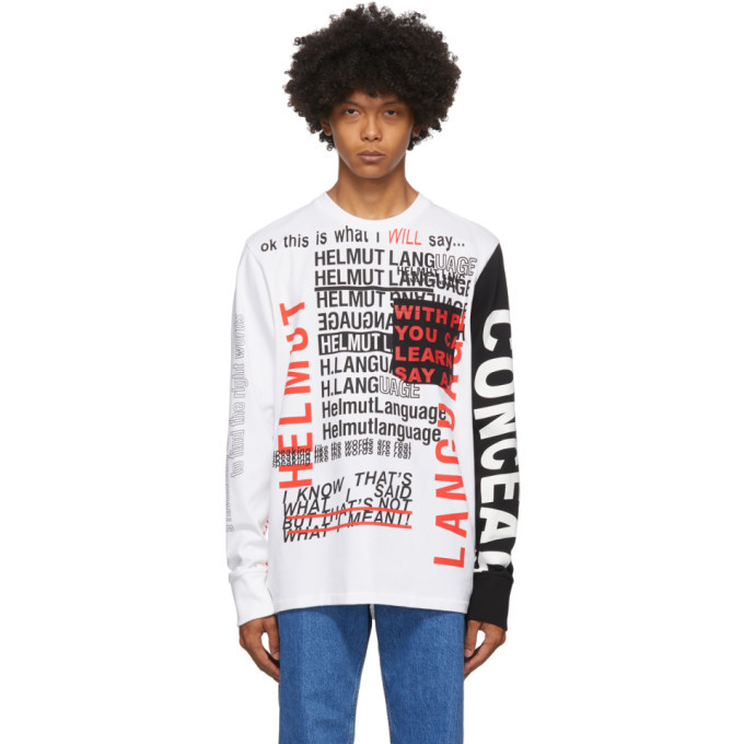 Photo: Helmut Lang White Willie Norris Edition Long Sleeve T-Shirt