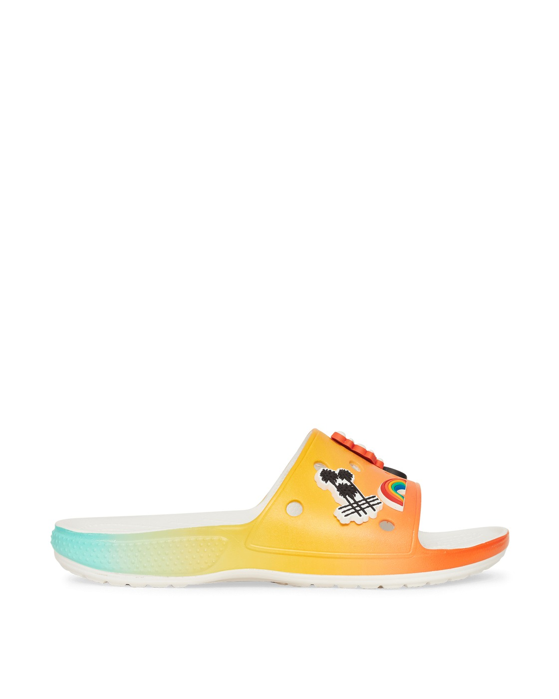 Photo: Crocs Free & Easy Classic Slides Orange