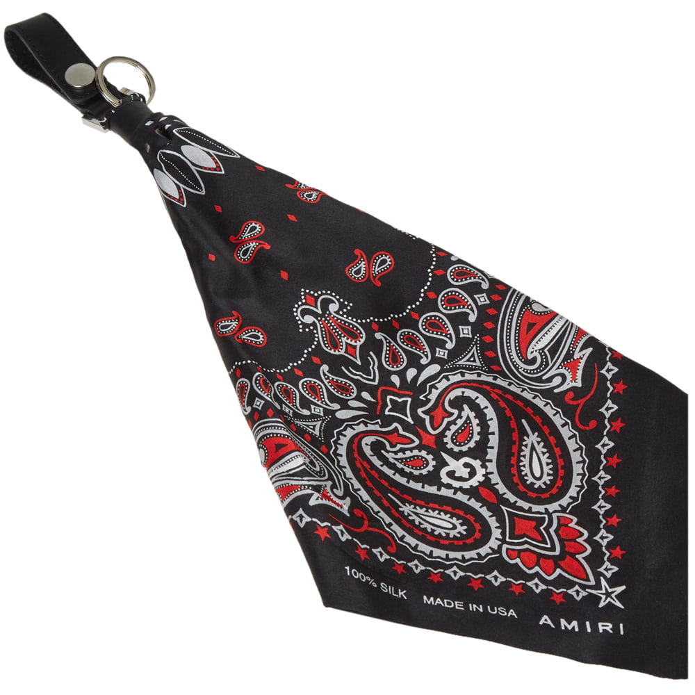 Photo: AMIRI Bandana Key Ring
