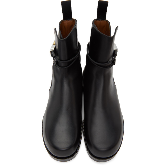 1017 ALYX 9SM Black Buckle Chelsea Boots