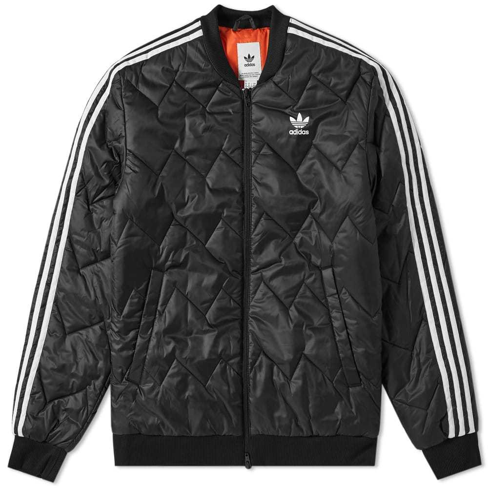 Adidas SST Quilted Jacket Black