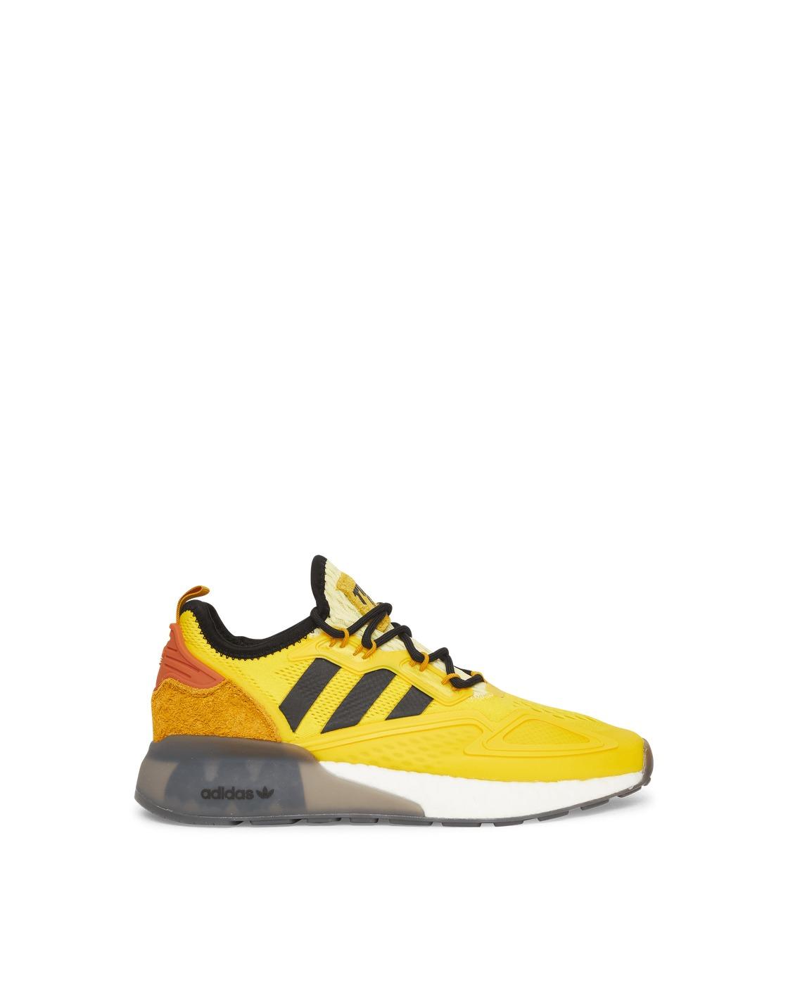 Adidas Originals Ninja Zx 2k Boost J Sneakers Yellow