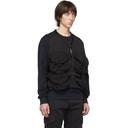 C.P. Company Black 50 Fili Zip Up Vest