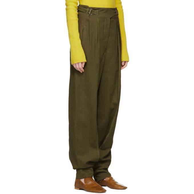 Lemaire Khaki Cargo Trousers