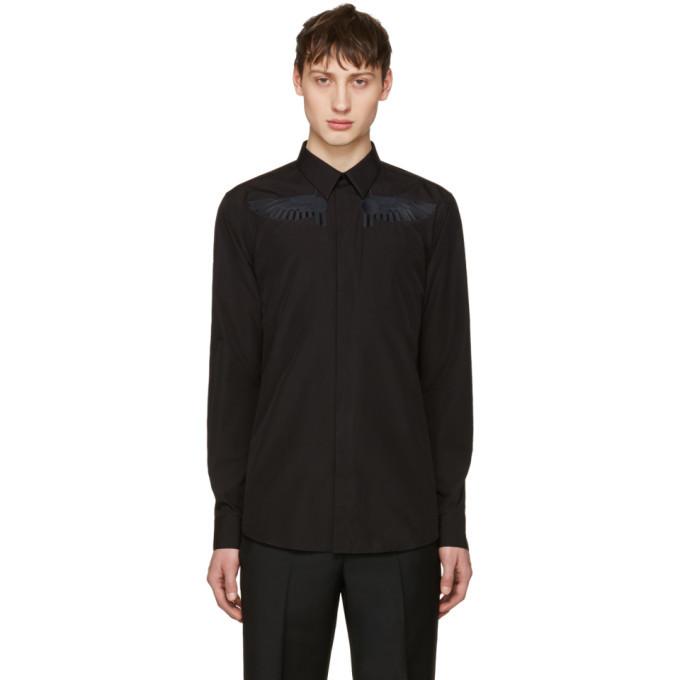 Photo: Givenchy Black Wing Shirt