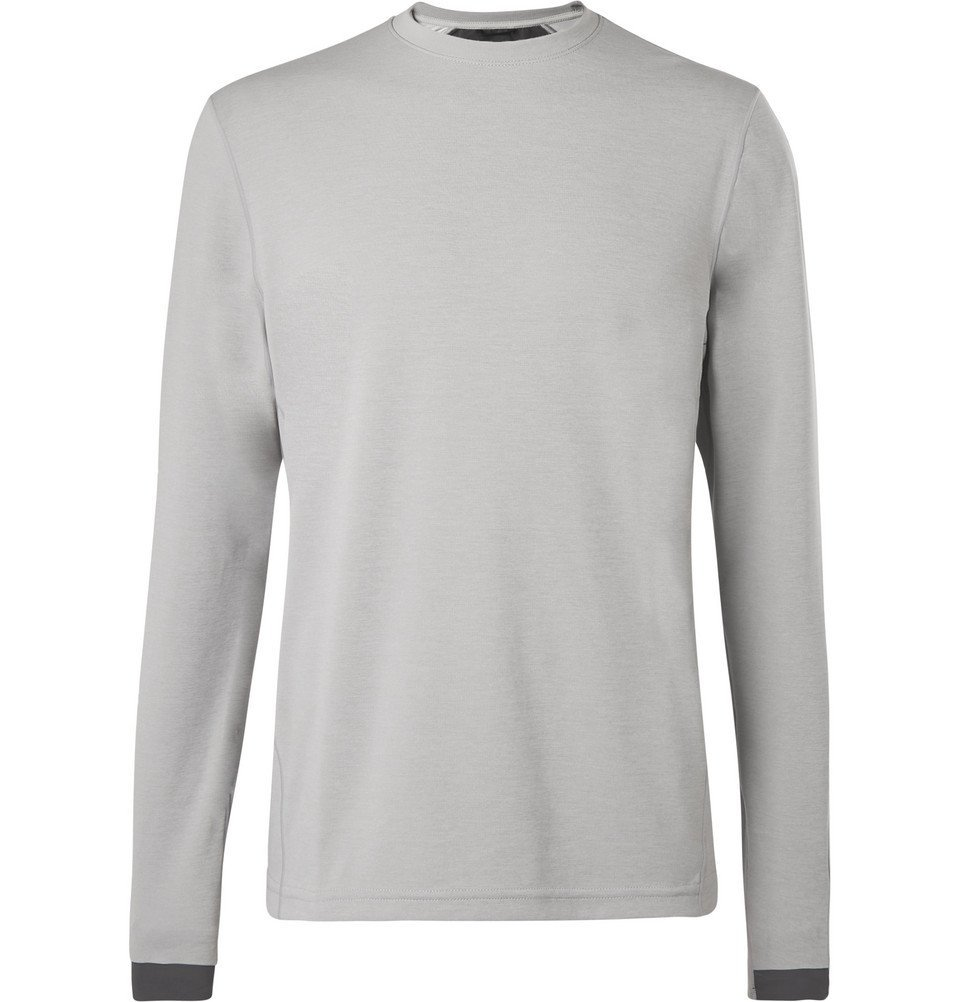 Photo: Reigning Champ - Stretch-Jersey T-Shirt - Gray