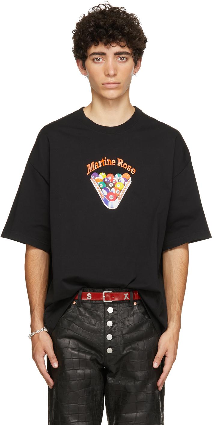 Photo: Martine Rose Black Snooker Brittle T-Shirt
