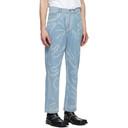 Martine Rose Blue Paint Stroke Jeans