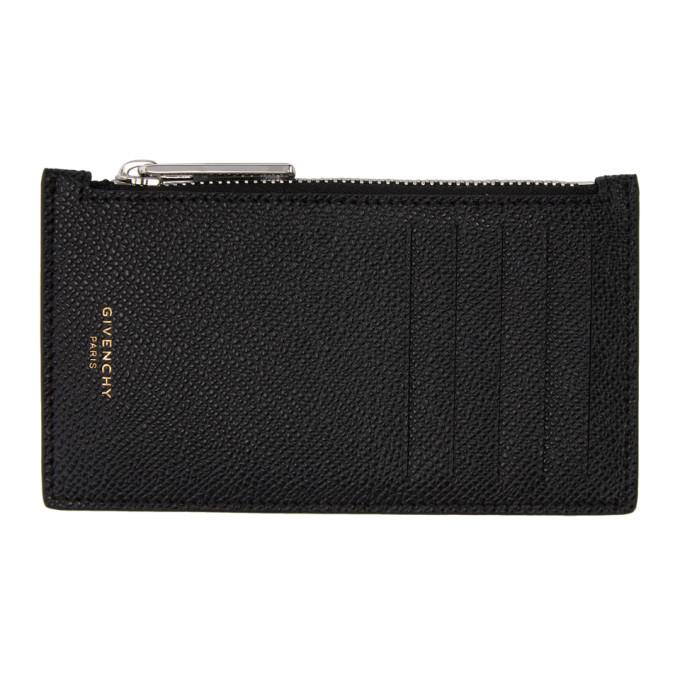 Photo: Givenchy Black Eros Zipped Card Holder