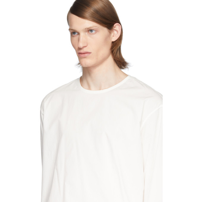 Lemaire White Can Edition Rehearsal Long Sleeve T-Shirt