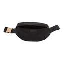 Stella McCartney Black Falabella Logo Go Belt Bag