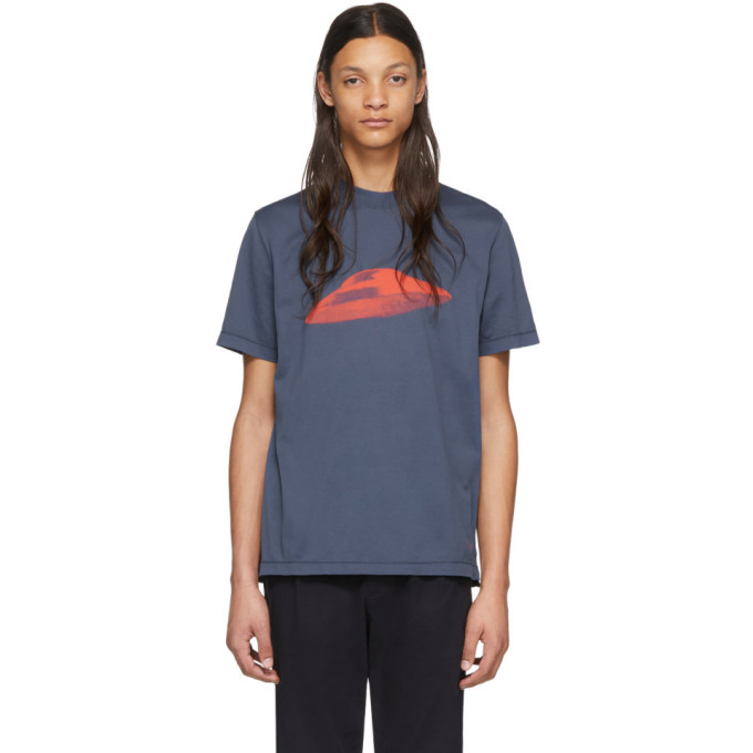 Photo: PS by Paul Smith Blue Flying Saucer T-Shirt