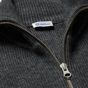 Schiesser - Jonah Slim-Fit Mélange Wool and Cashmere-Blend Zip-Up Cardigan - Dark gray
