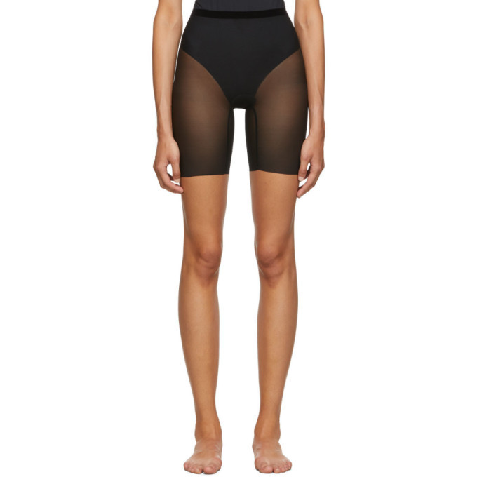 Photo: Wolford Black Tulle Control Shorts