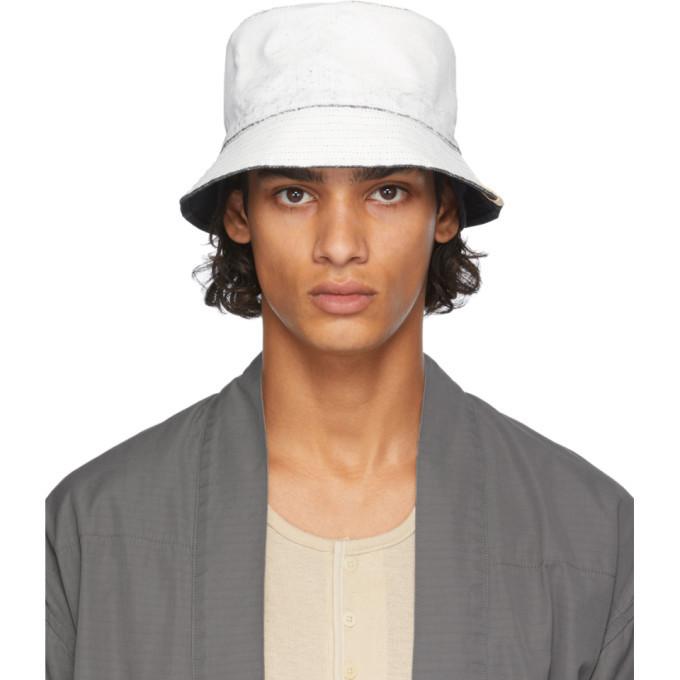 Photo: Visvim White Dome Flap Hat