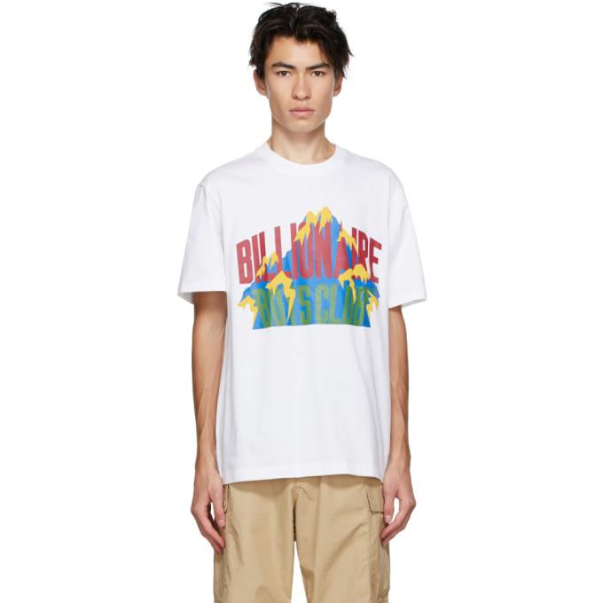 Photo: Billionaire Boys Club White Mountain Logo T-Shirt