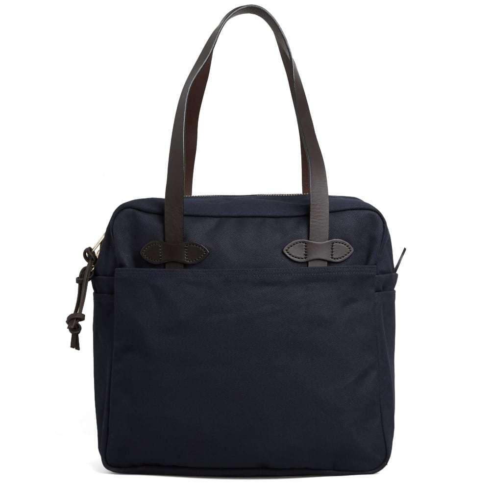 Filson Zip Tote Bag Blue