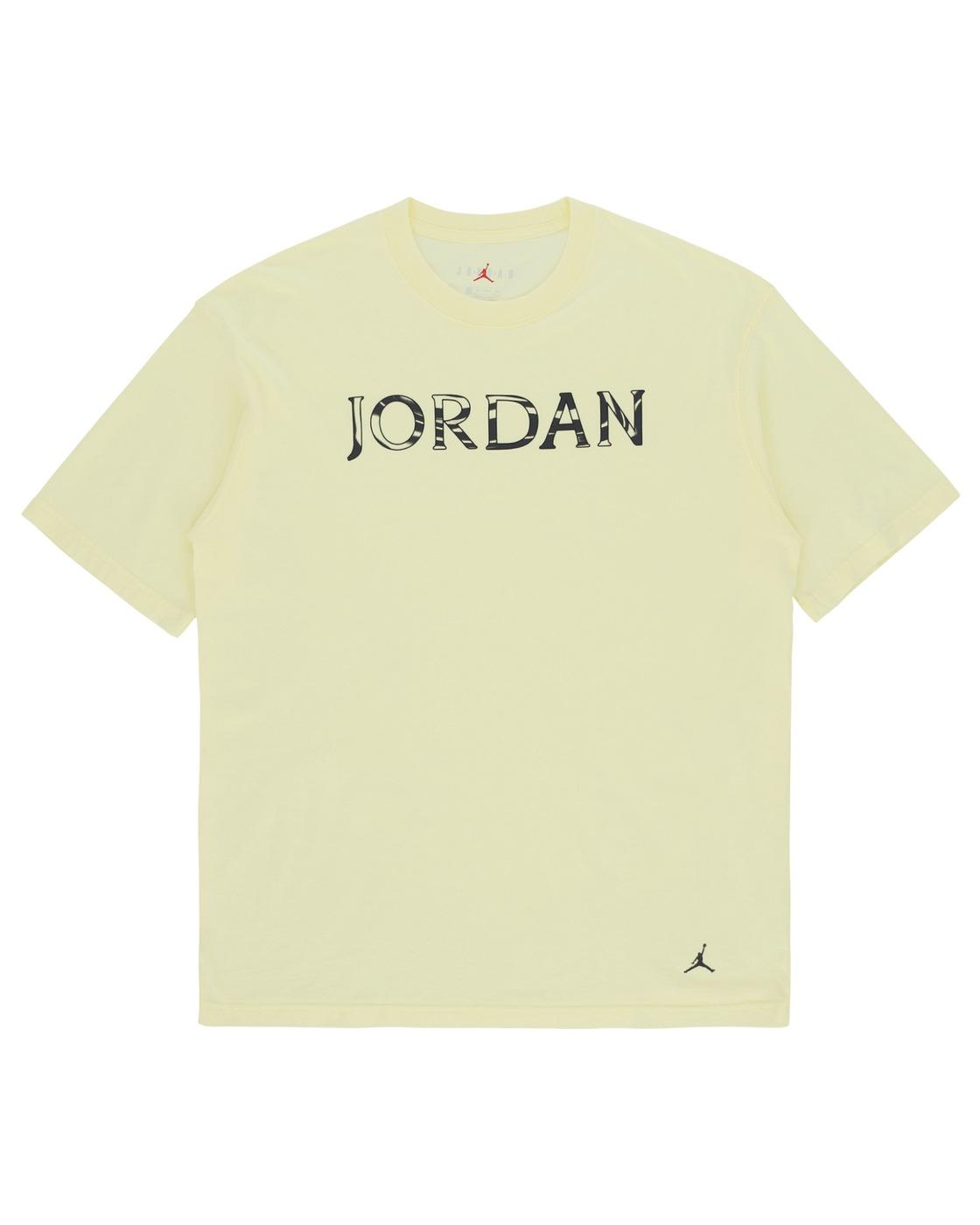Nike Jordan Utility Oversize T Shirt Citron Tint
