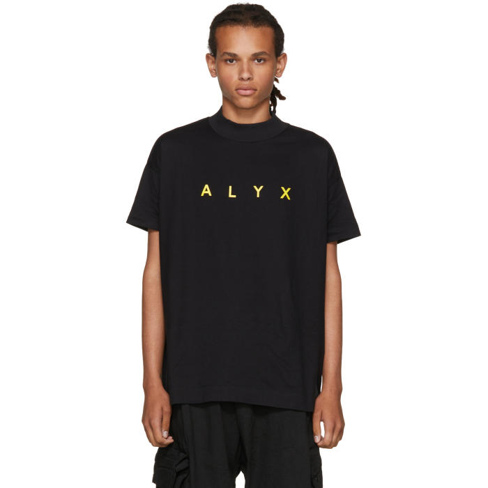 Alyx SSENSE Exclusive Black Logo T-Shirt