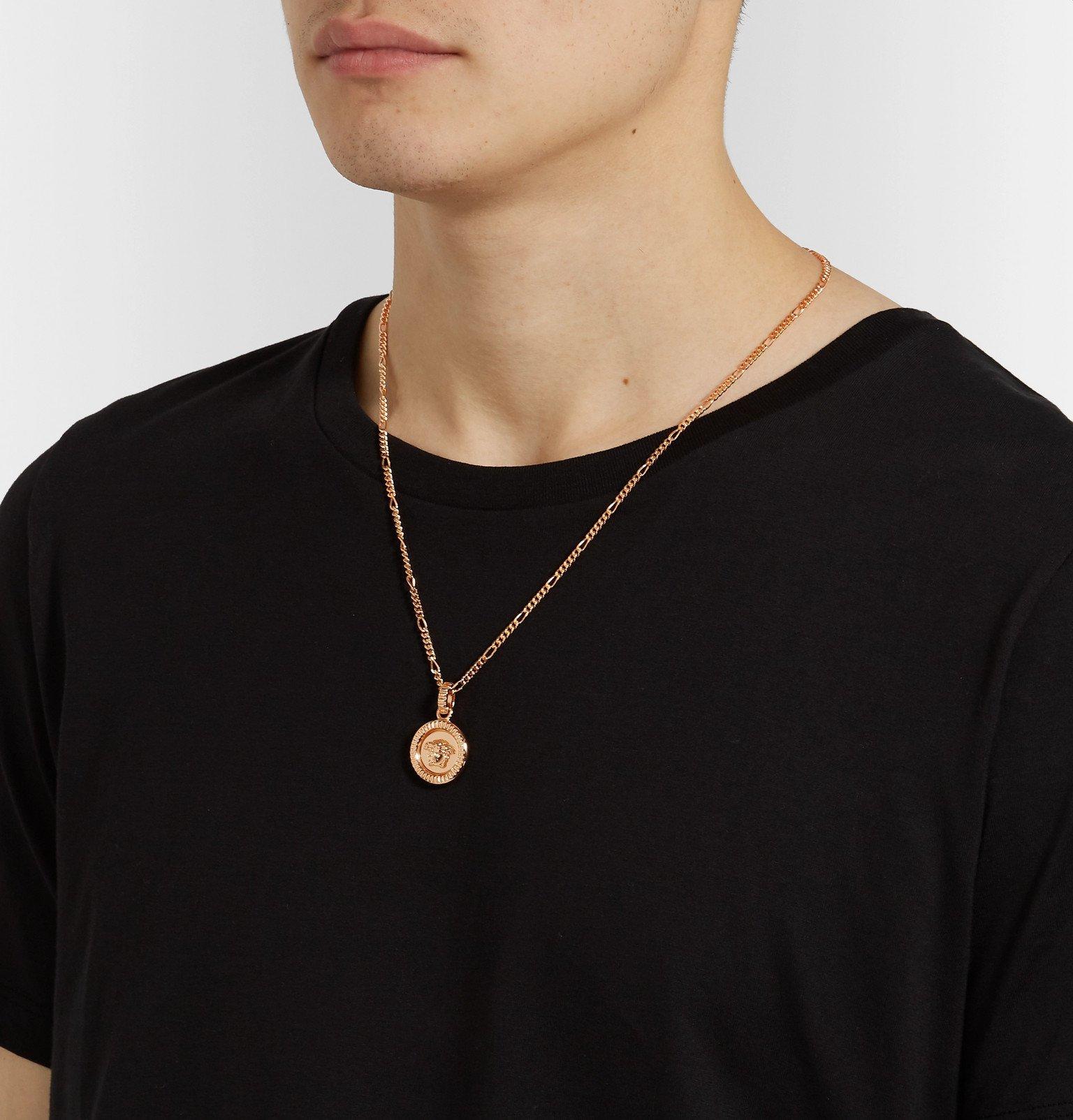 Versace - Medusa Gold-Tone Necklace - Gold