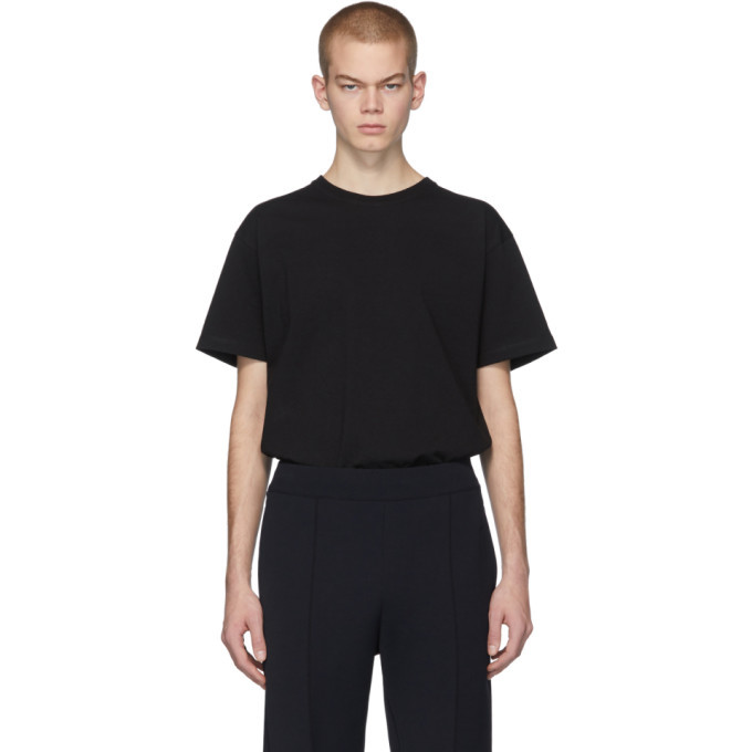 Photo: Bottega Veneta Black Stitch T-Shirt