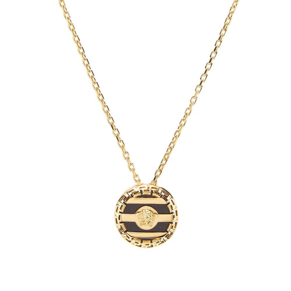 Photo: Versace Medusa Pendant Necklace