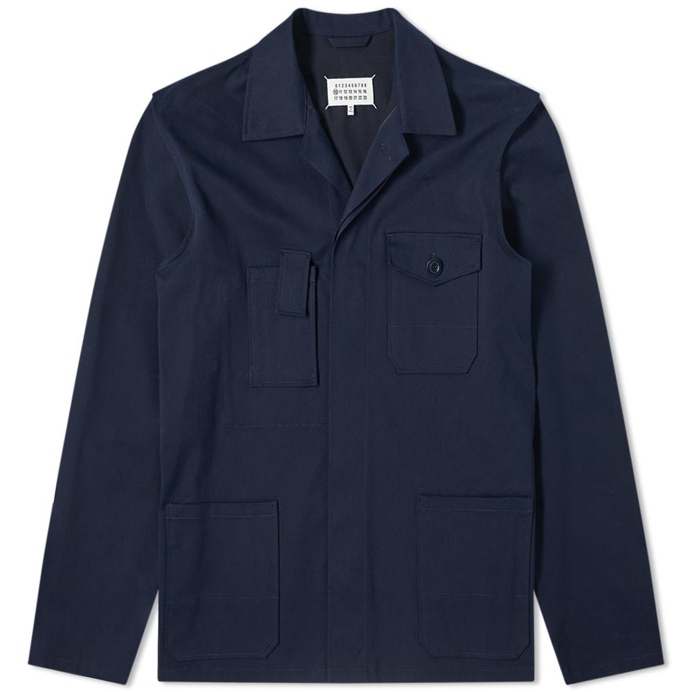 Photo: Maison Margiela 10 Gabardine Shirt Jacket