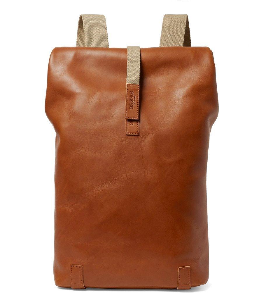 Photo: Brooks England - Pickwick Large Leather Backpack - Tan