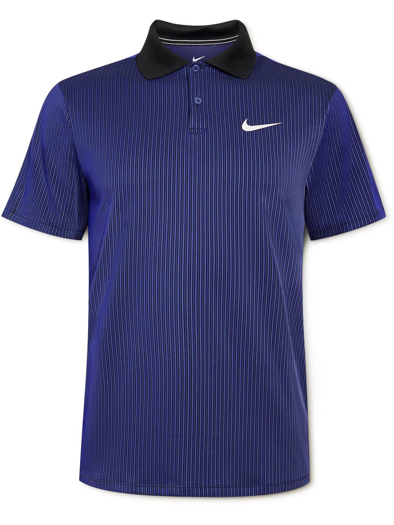 Photo: Nike Tennis - Slam Dri-FIT ADV Tennis Polo Shirt - Purple