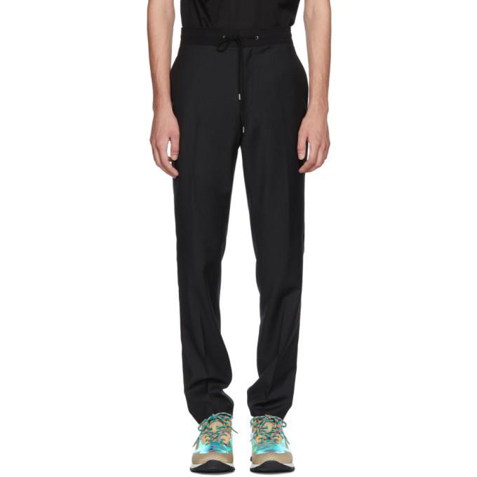 Photo: Lanvin Black Drawstring Trousers