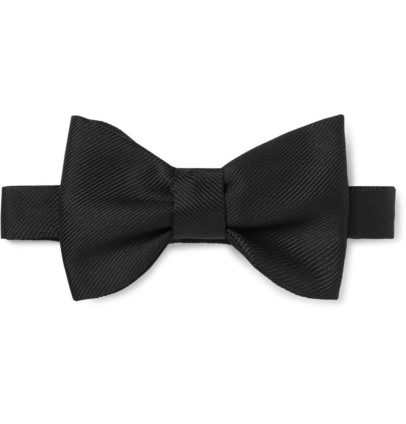 Photo: Maximilian Mogg - Self-Tie Silk-Grosgrain Bow Tie - Unknown