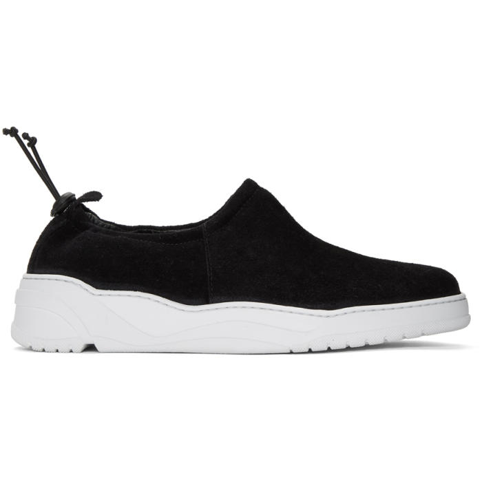 Photo: HOPE Black and White Moccasin Sneakers