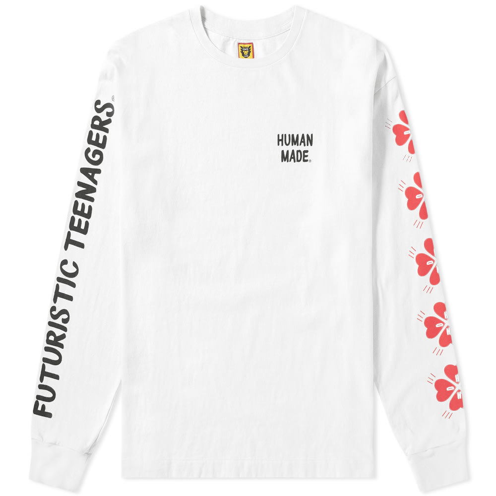 Photo: Human Made Long Sleeve Logo Arm Tee