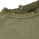 KAPITAL - Distressed Intarsia Cotton-Blend Sweater - Green