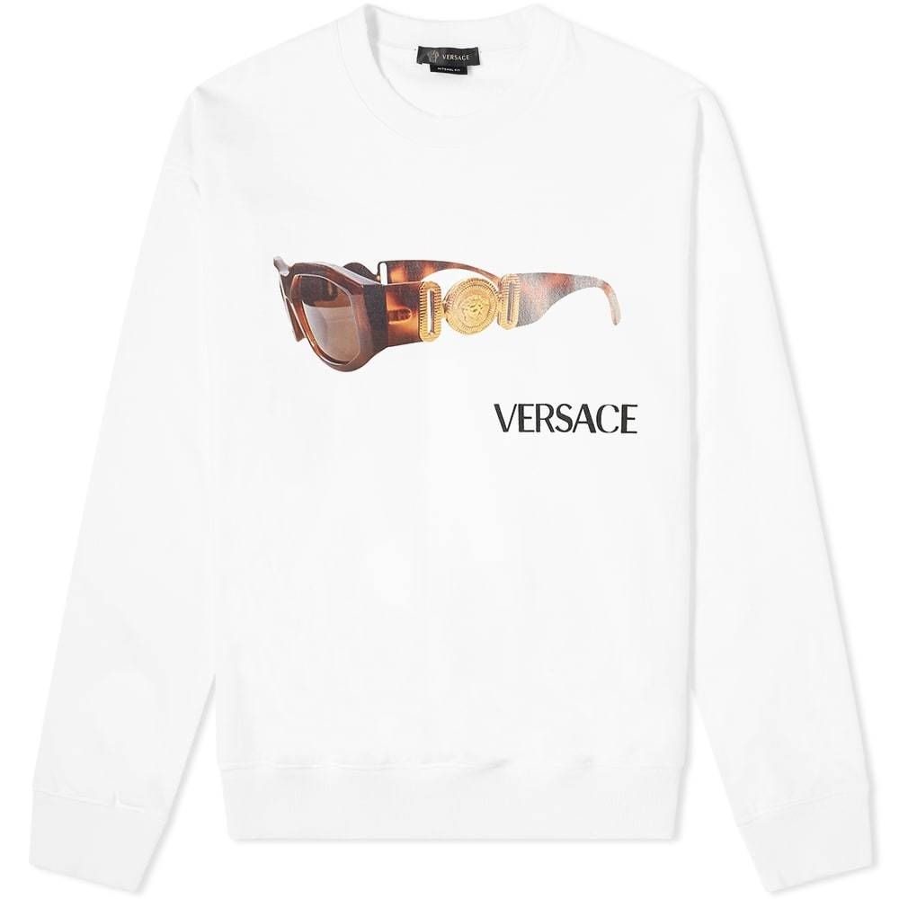Photo: Versace Sunglasses Crew Sweat