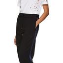 3.1 Phillip Lim Black Striped Lounge Pants