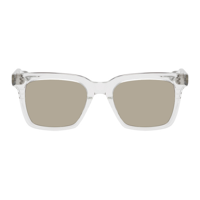 Photo: Dita Transparent and Grey Sequoia Sunglasses