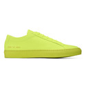 Common Projects Yellow Original Achilles Low Sneakers