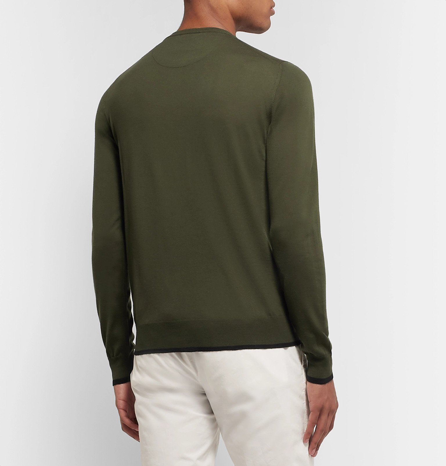 Tod's - Merino Wool Sweater - Green