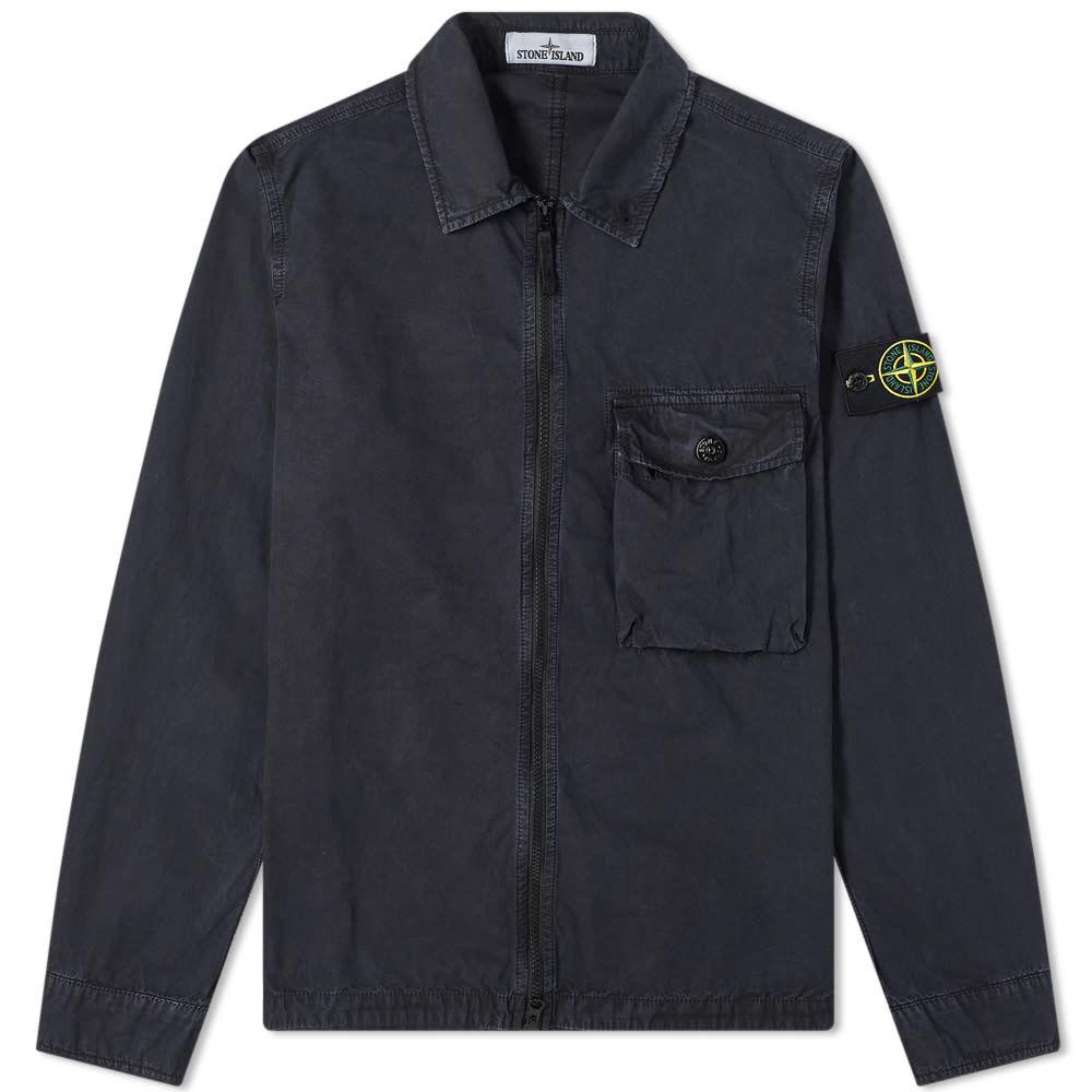 Photo: Stone Island Garment Dyed Overshirt