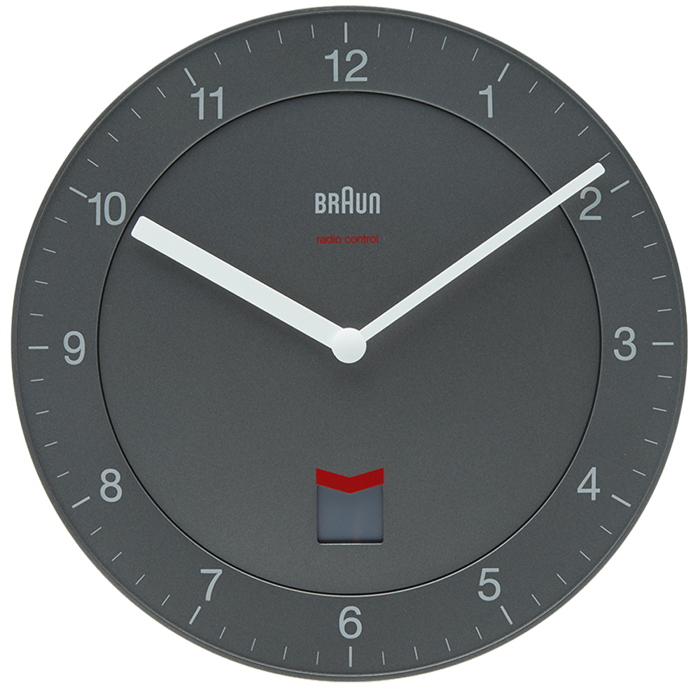 Photo: Braun Radio Controlled Wall Clock DCF Version