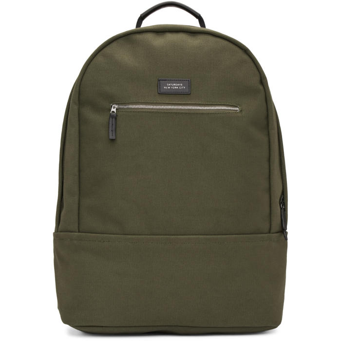 Photo: Saturdays NYC Green Hannes Backpack