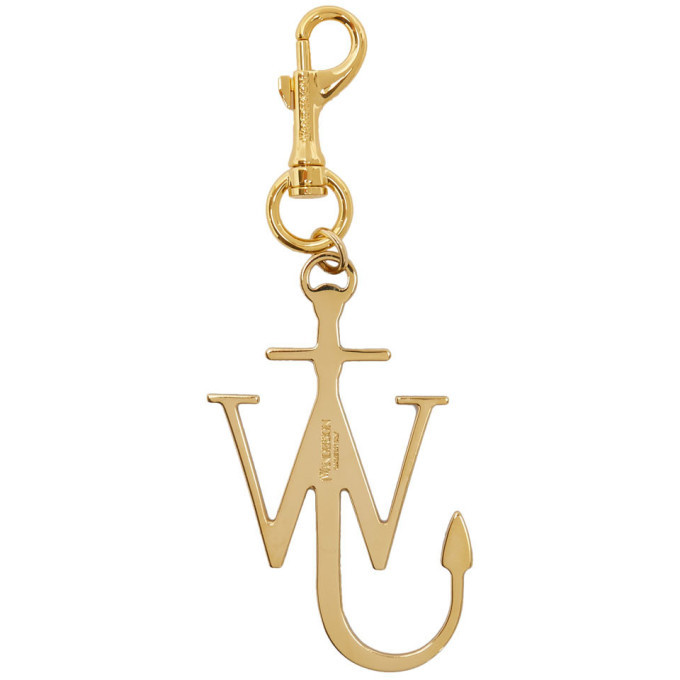 Photo: JW Anderson Brown and Gold Anchor Keychain