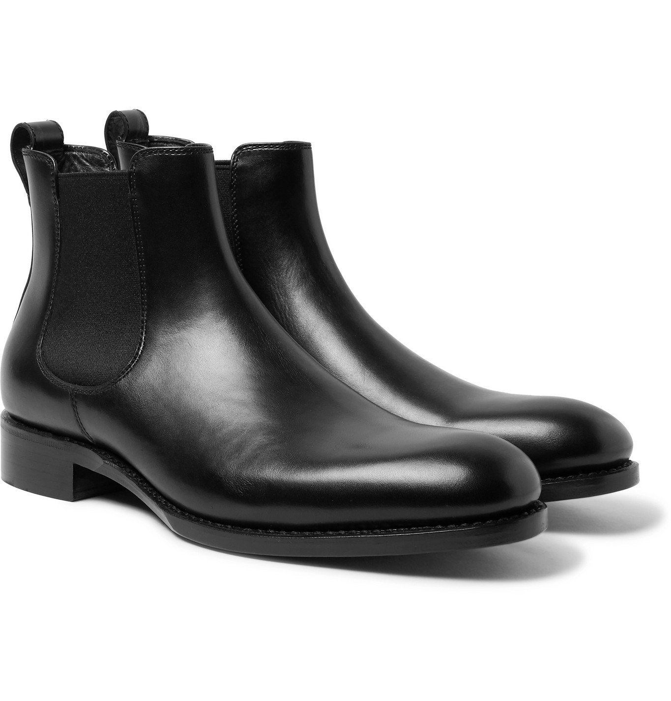 Photo: SALLE PRIVÉE - Walter Leather Chelsea Boots - Black