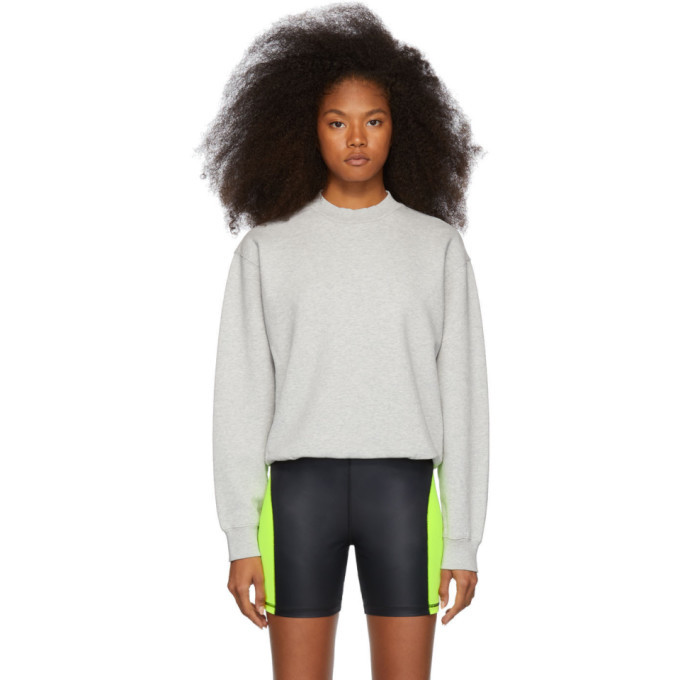 alexanderwang.t Grey Heavy French Terry Sweatshirt