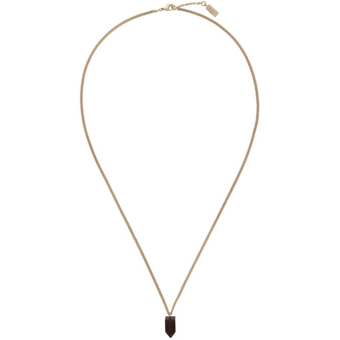 Photo: A.P.C. Gold Ofer Necklace